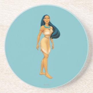 Actitud de Pocahontas Posavasos De Arenisca
