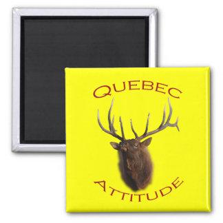 Actitud de Quebec Imanes Para Frigoríficos