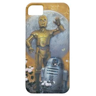 Actitud de R2-D2 y de C-3PO Funda Para iPhone SE/5/5s