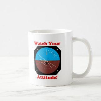 Actitud de WatchYour Tazas De Café