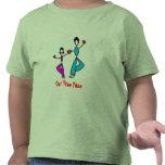 Actitud del árbol de la mamá y de la hija - camiseta