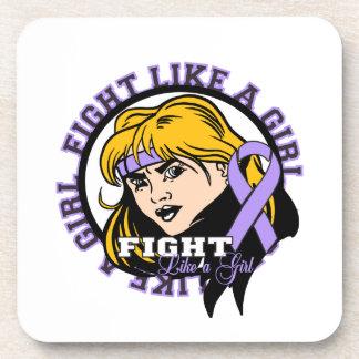 Actitud del chica de general Cancer Fight Like A Posavasos