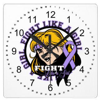 Actitud del chica de general Cancer Fight Like A Reloj