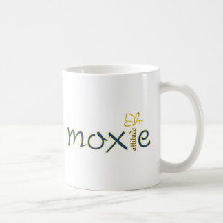 Actitud del Moxie Taza Básica Blanca