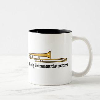 Actitud del Trombone Tazas