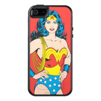 Actitud del vintage de la Mujer Maravilla el | con Funda Otterbox Para iPhone 5/5s/SE