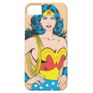 Actitud del vintage de la Mujer Maravilla el | con Funda Para iPhone SE/5/5s