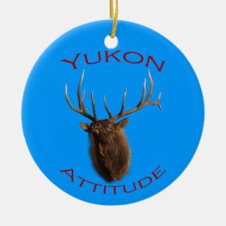 Actitud del Yukón Ornamento Para Reyes Magos