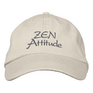 Actitud del zen gorras bordadas