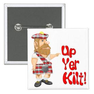 Actitud escocesa pins