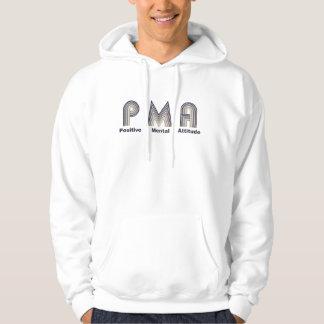 Actitud mental positiva jersey con capucha