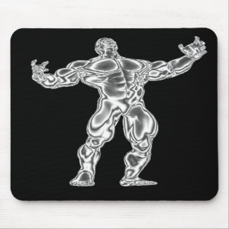 Actitud para hombre Mousepad del Bodybuilding Alfombrilla De Ratones