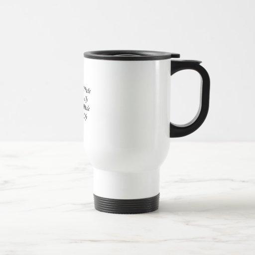Actitud positiva taza de café