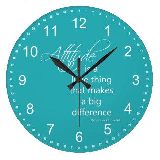 Actitud Reloj Redondo Grande
