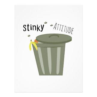 Actitud Stinky Membretes Personalizados