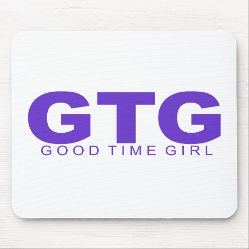"Actitudes - ""buen chica del tiempo "" tapete de ratones"