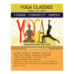 Actitudes de la yoga tarjetas informativas