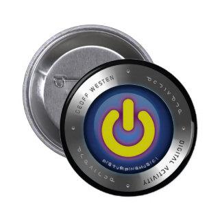 Activate - Blue Orb Button