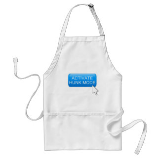 Activate hunk mode. adult apron