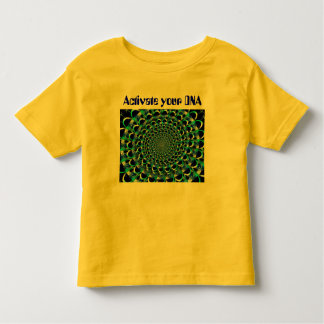 Activate your DNA toddler shirt
