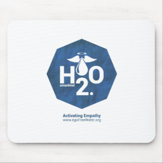 Activating Empathy Humankind 2.0 by egoFree Water Mouse Pad