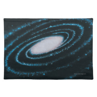 Active Galaxies Cloth Placemat