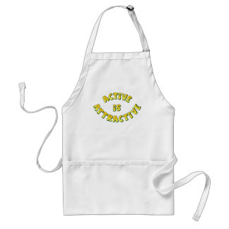 Active Is Attractive Apron