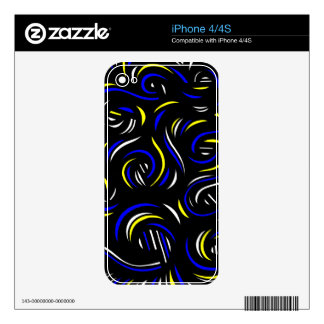 Active Joy Amiable Success Decals For The iPhone 4S