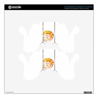 Active kid PS3 controller decal