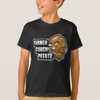 "Active Kids, Fitness Design ""Former Couch Potato"" T-Shirt"