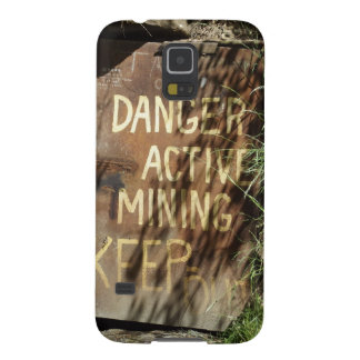 Active Mining Sign Galaxy S5 Case