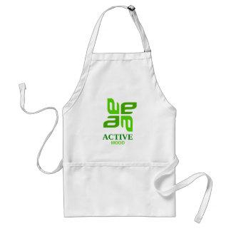 active mood adult apron