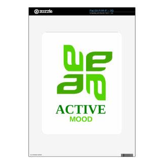 active mood iPad decals