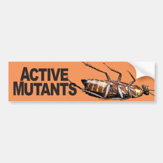 Active Mutants - Bumper Sticker