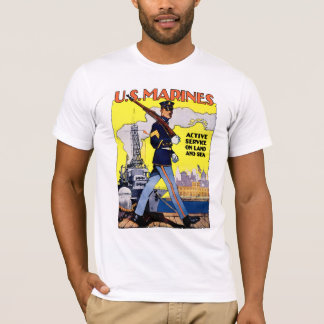Active Service on Land and Sea T-Shirt