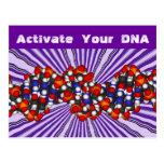 Active su postal de la DNA