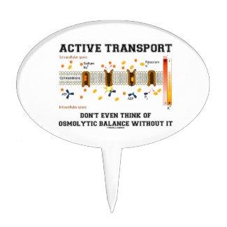 Active Transport Don't Think Of Osmolytic Balance Cake Picks