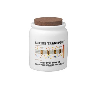 Active Transport Don't Think Of Osmolytic Balance Candy Dish