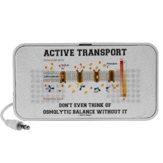Active Transport Don't Think Of Osmolytic Balance iPod Speakers