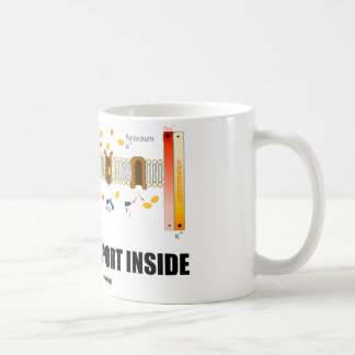 Active Transport Inside (Sodium-Potassium Pump) Coffee Mug