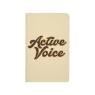 Active Voice Journal