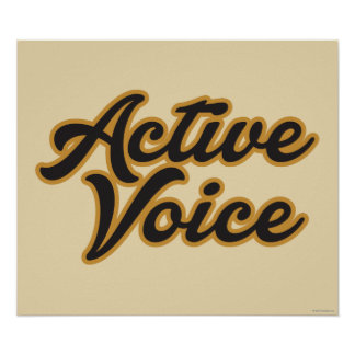 Active Voice Poster