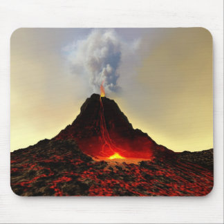ACTIVE VOLCANO MOUSEPAD