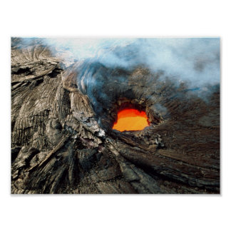 Active Volcano Poster