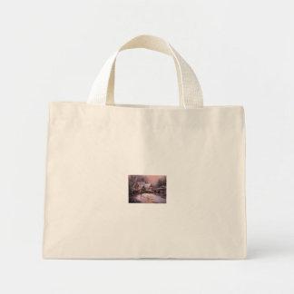 active-winter-cottage canvas bags