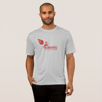 Activewear Men's: Running with Eagles' Wings T-Shirt