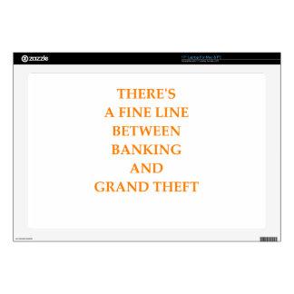 actividad bancaria skins para 43,2cm portátil