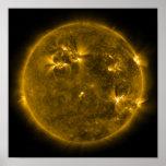 Actividad solar el Sun 4 Posters