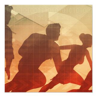 """Actividades de formación de equipo para aumentar invitación 5.25"""" x 5.25"""""""