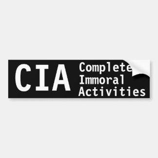 Actividades totalmente inmorales de la Cia Pegatina Para Auto